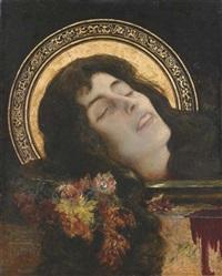 théodora, vierge et martyre by henri (hirne) le riche