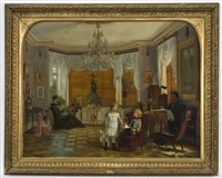 children and their parents in the study by wilhelm pacht