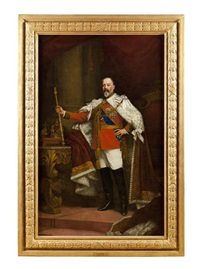the coronation portrait of edward vii by sir samuel luke fildes
