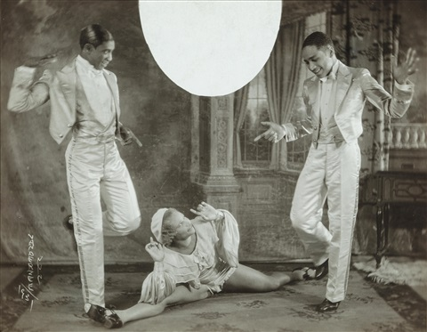 tap dance team by james van der zee