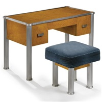 bureau and stool (set of 2) by marie louis sue