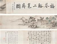 landscape by xi zhongpu