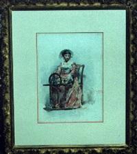 paysanne du milanais by lodovico de courten