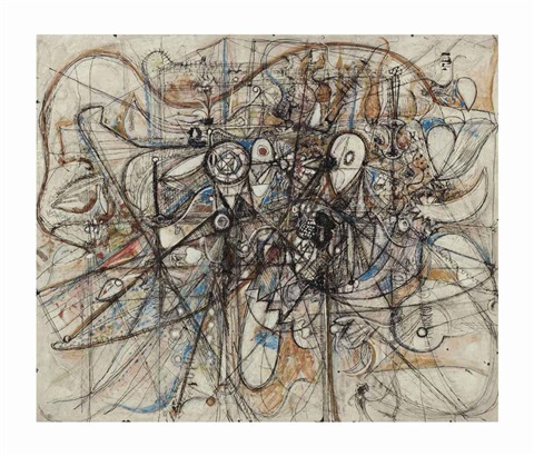 ascending dove by richard pousette dart