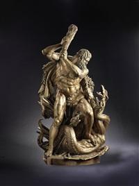 hercules and the hydra by edmund hofmann von aspernburg