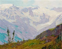 canadian rockies by edward henry potthast