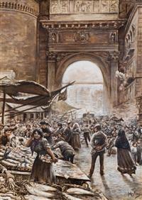 mercato del pesce a porta capuana by vincenzo migliaro