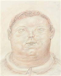 the idiot by fernando botero