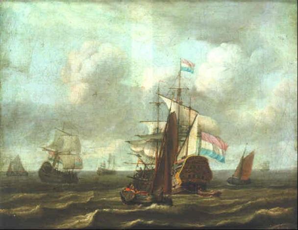 a shipping scene by adam silo