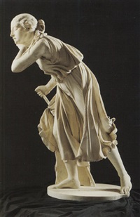 nydia: the blind flower girl of pompeii by randolph john rogers