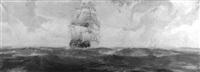 columbus' ships coming to america by john p. benson