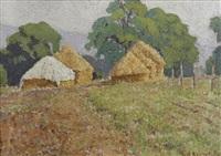 haystacks by william ratcliffe