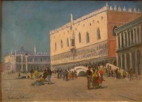 view of venice by alexander wellwood rattray