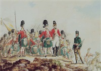 types of british army by t. paul (paul johann georg) fischer