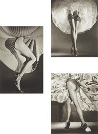 round the clock i, ii and iv (3 works) by horst p. horst