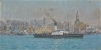 paddle steamers by charles david jones bryant