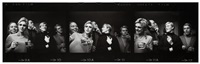 warhol and sedgwick entourage, nyc by steve schapiro