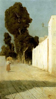 strada assolata by francesco raffaello santoro