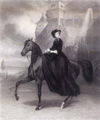kaiserin elisabeth von österreich by andreas johann fleischmann