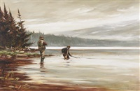 fishermen by john swan