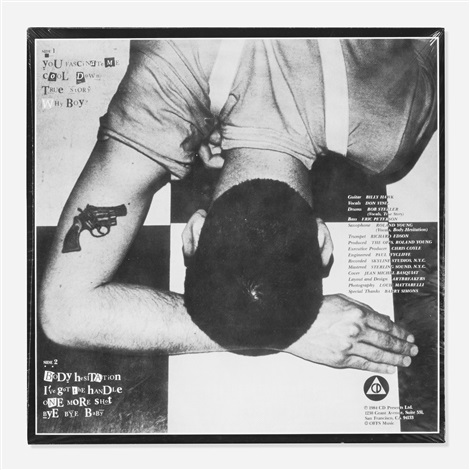 the offsfirst record lp by jean michel basquiat