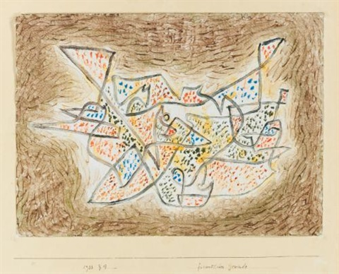 freundliches gewinde friendly meandering by paul klee