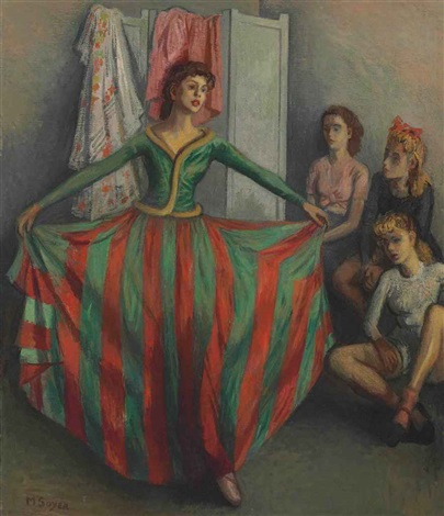 the new costume by moses soyer