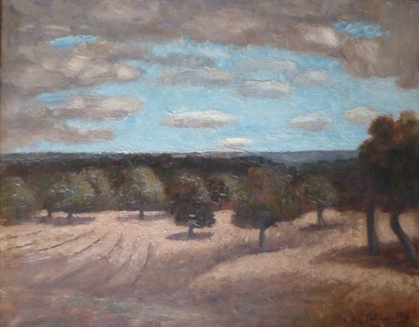 paysage by amédée marie dominique dubois de la patellière