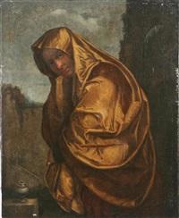 maria maddalena by parmigianino