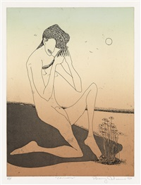 narcissus by benny andrews