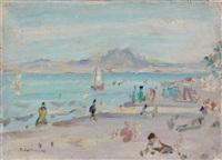 la plage du kram en tunisie by jules lellouche