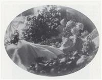 portrait post mortem de sarah bernhardt by paul nadar