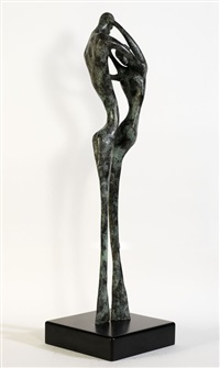 untitled - couple dancing by alfred gockel