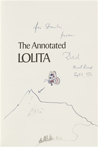 the annotated lolita (bk w/ 1 work) by vladimir nabokov
