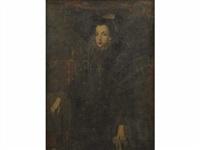 portrait de jeune femme portant une fraise by sofonisba anguissola