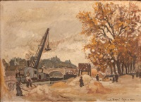 paris, travaux sur les quais by paul dupré-lafon