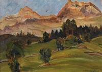 paesaggio montano by metello merlo