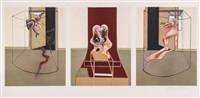 triptych, inspired by the oresteia of aeschylus by francis bacon