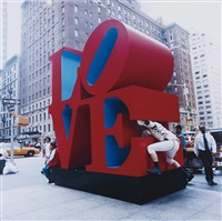 public sculpture tackle (love) by the bruce high quality foundation