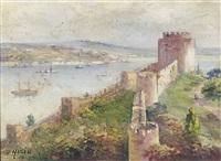 rumeli fortress, istanbul by halid naci