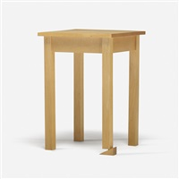 table (wedged) by tony tasset