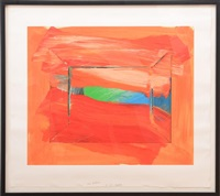 the sky's the limit, for great performance at lincoln center by howard hodgkin