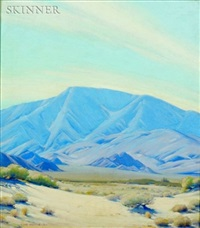 a southwestern landscape by victor clyde forsythe