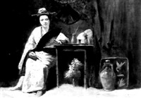 geisha girl by george w. aikman