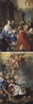 die anbetung der könige by joseph melling