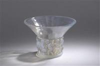 vase farandole by rené lalique