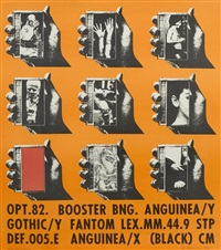 opt. 82. booster bng. anguinea by wallace berman
