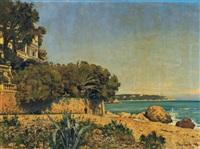 bord de mer by pierre francois bouchard