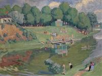 the belaya river by vladimir alekseevich milashevsky