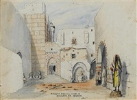 egypt, sinai, palestine and greece (album + anohther, smaller album) by the rev. arthur hall